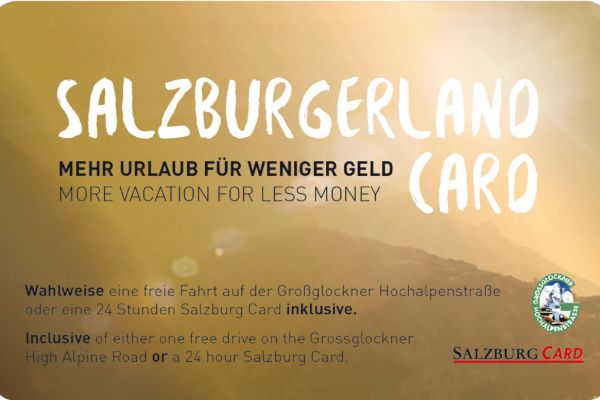 SalzburgerLand Card with more than 190 attractions