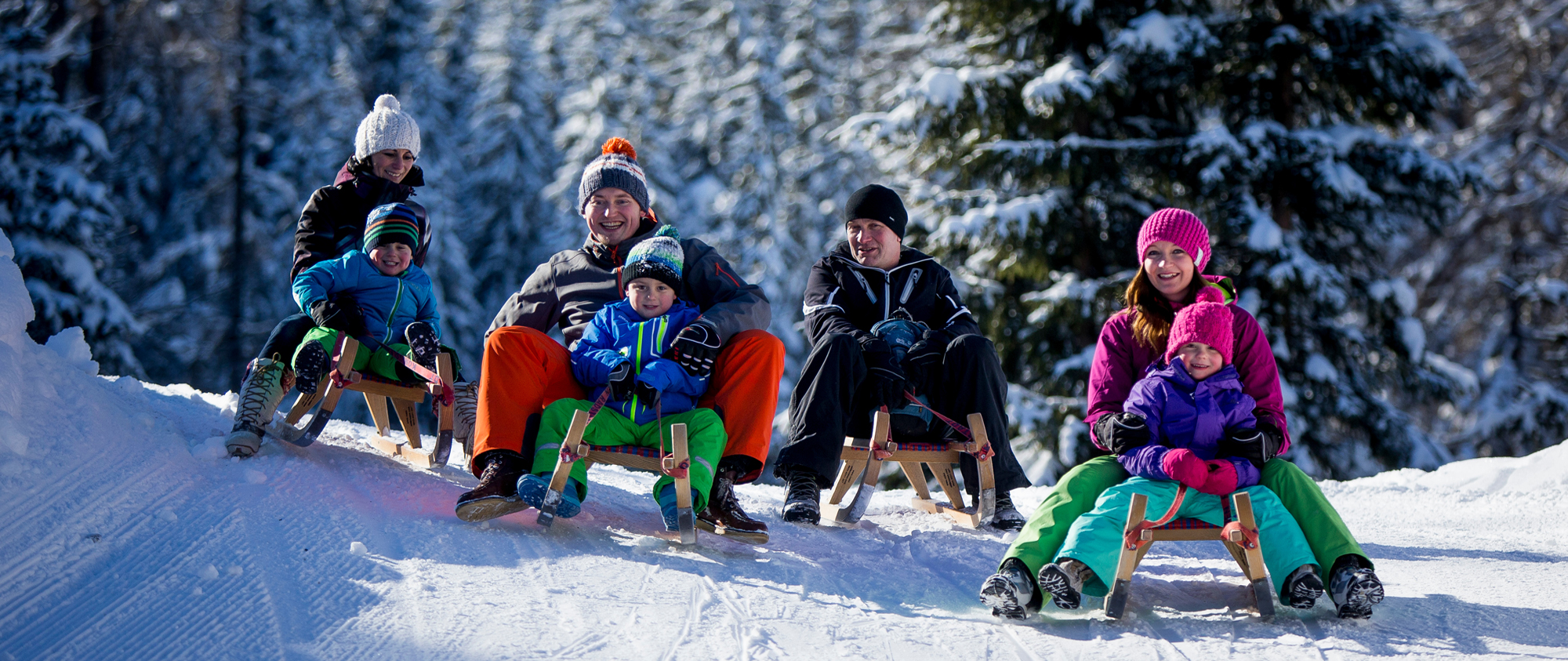 Familienurlaub im Winter in Filzmoos in Ski amadé